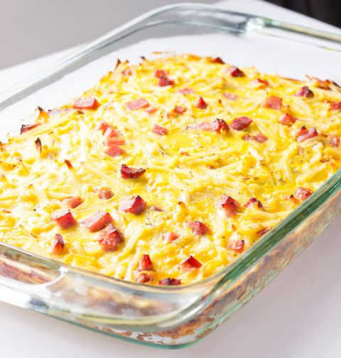 Easy Breakfast Casserole I would double the pepper and adjust a little bit more salt