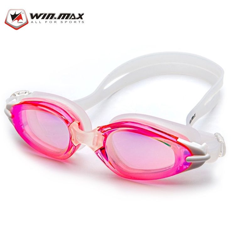 WINMAX WMB53733 Professional Swimming Glasses - RED