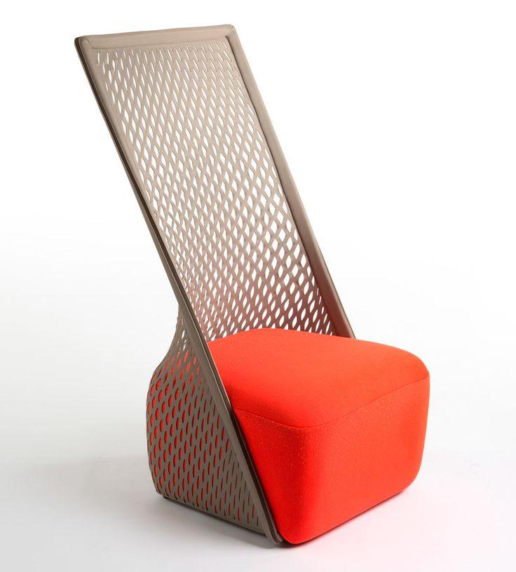 benjamin hubert: cradle lounge chair for moroso