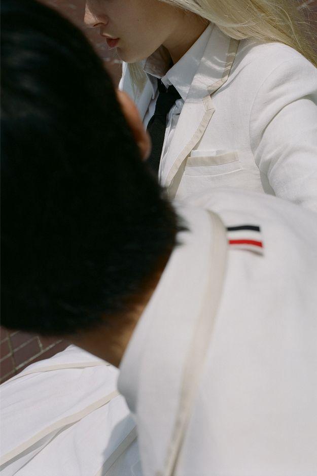 Как Серена Уильямс и Рафаэль Надаль: Коллекция Thom Browne для Уимблдона (фото 6)