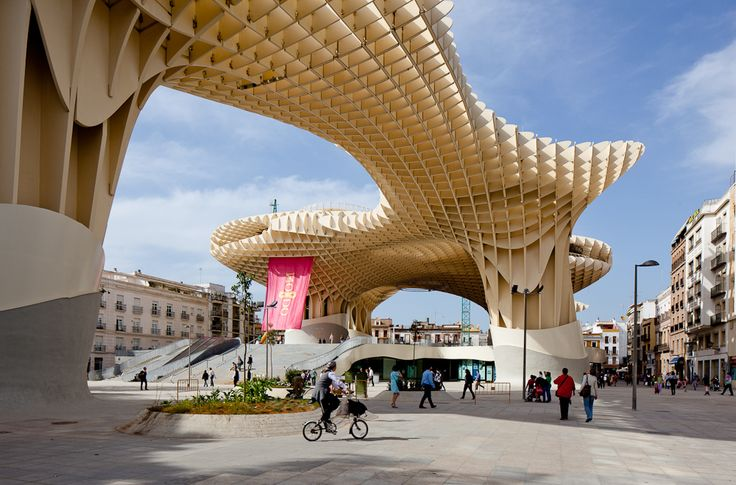 "Frame from the video ""J. Mayer. H.'s Metropol Parasol, Sevilla, Spain"" (BR 2011, 2'31"") by Pedro Kok, architecture by J. Mayer H.. /// This video is selected and collected by Image in its architecture video archive. /// #architecture #video #image @Image"
