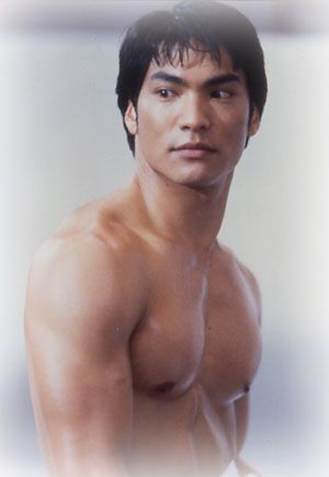 "Jason Scott Lee in ""Dragon: The Bruce Lee Story."""