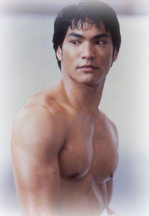 "Jason Scott Lee in ""Dragon: The Bruce Lee Story."""
