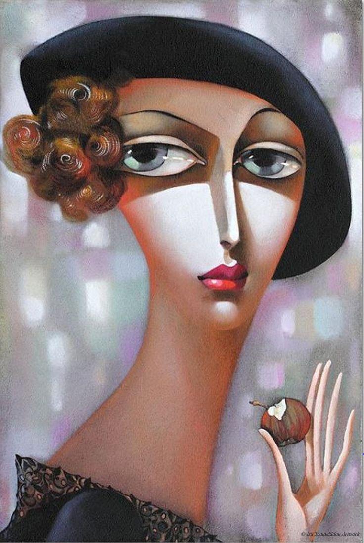 Eva by Ira Tsantekidou. (Series Visages).