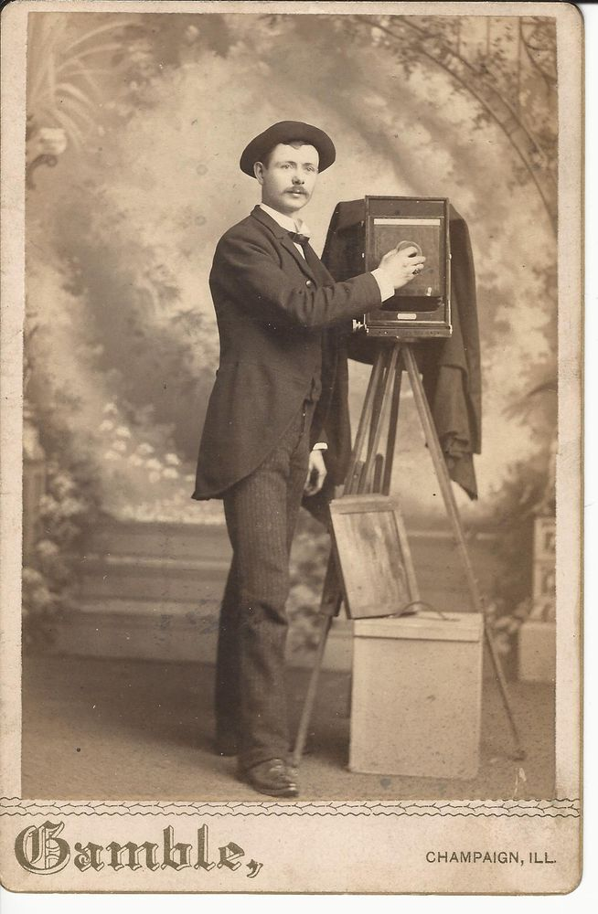 Cabinet Card Photographs