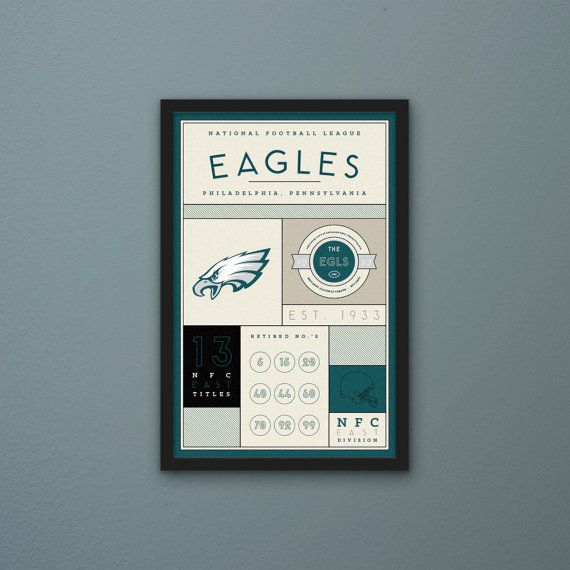 Philadelphia Eagles Stats Print