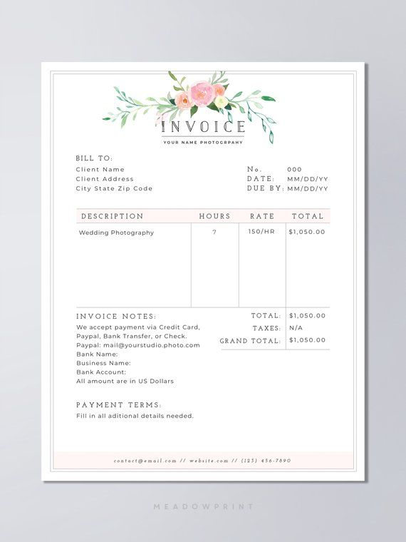 Photography Contract Template Bundle Photography Template Set Photographer Form Bundle Set Contract Bundle Marketing Kit Model Release Photography Invoice Photography Invoice Template Photography Contract