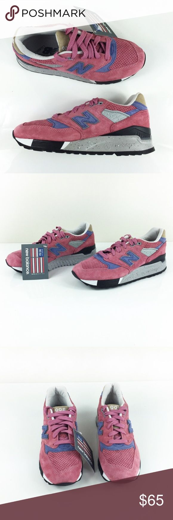 NEW BALANCE 988 ABZORB SNEAKERS 5 NEW BALANCE 988 ABZORB SNEAKERS in size 5 brand new, no box, flawless! Beautiful soft pink suede with tones of lavender and gray! Make an offer New Balance Shoes Sneakers