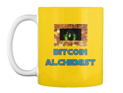 Bitcoin  Alchemist Lemon Yellow Mug Front