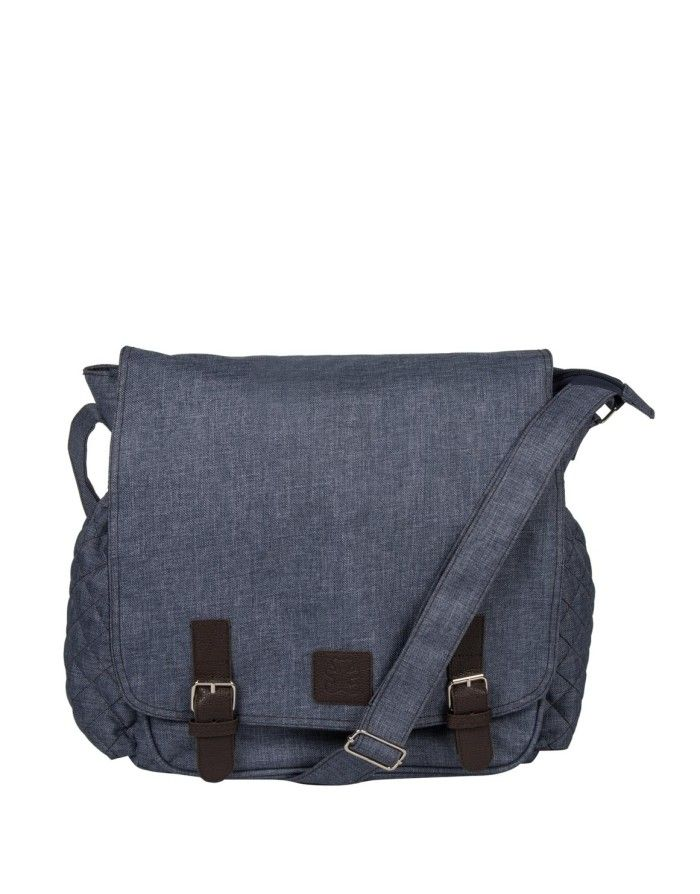 Satchel nappy bag