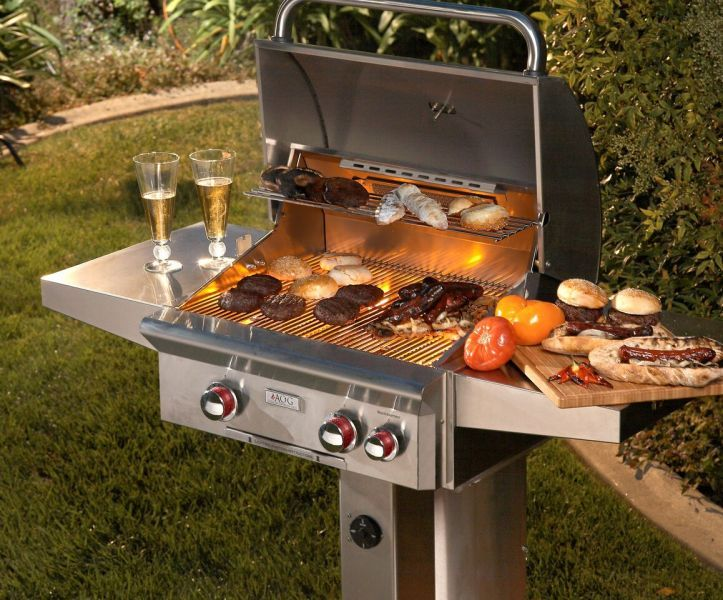 Outdoor Grills Are Perfect For The Colorado Summer Outdoor Grill Outdoor Cooking Area Natural Gas Grill