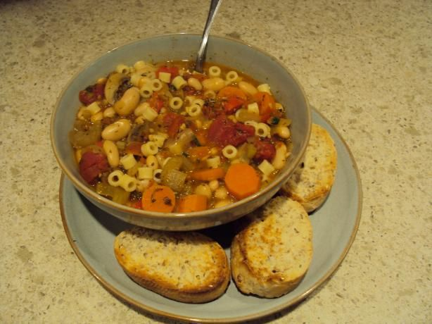 Vegetarian Pasta e Fagioli (Pasta and Beans) from Food.com: This is ...