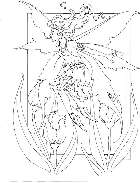amy brown coloring pages free - photo#22