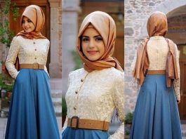 Hijab Fashion 2016/2017: Sélection de looks tendances spécial voilées Look Descreption suka dengan model busananya simple, cantik, syar'i