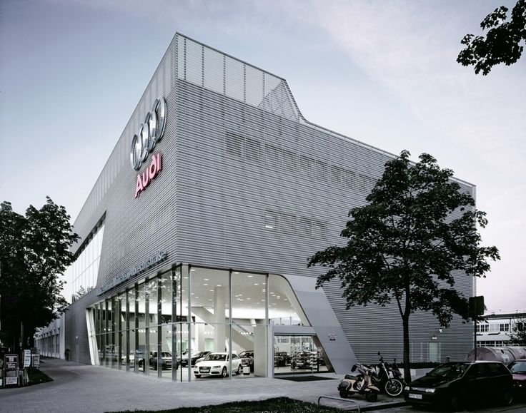 Audi Sales Center Munich | Werner Sobek