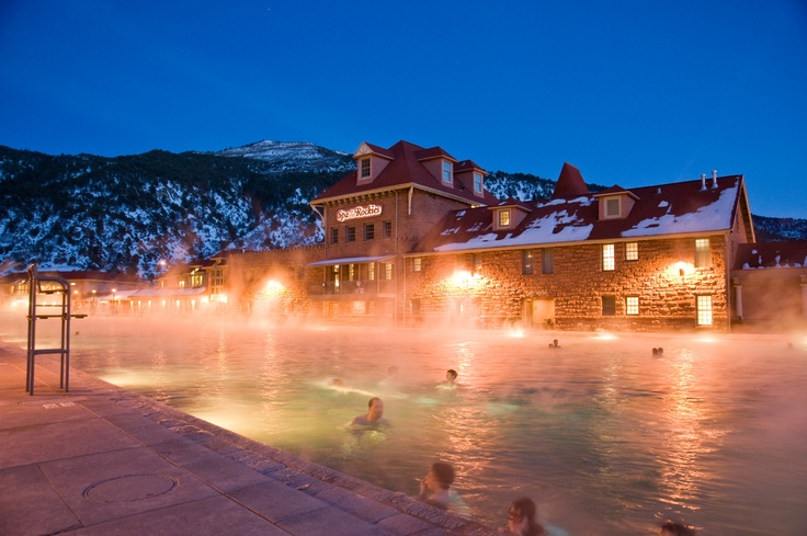 Pin to Win - Outdoor Winter Activities - Hot Springs