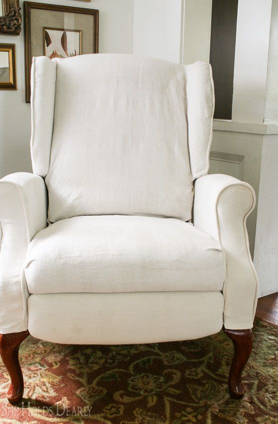 How to Slipcover a Recliner : recliner slipcover - islam-shia.org