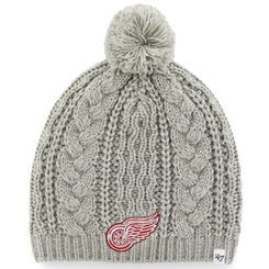 Detroit Red Wings '47 Brand Women's Kiowa Pom Knit Hat - Gray