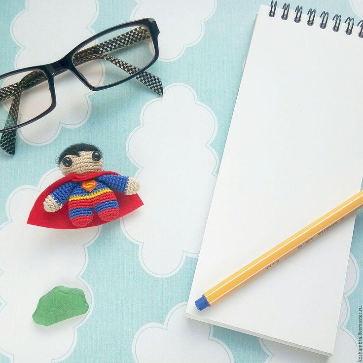 crochet toy superman