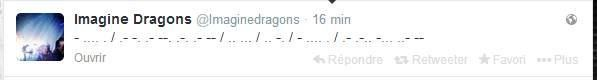 """When you translate this mysterious tweet from the last Q&A for #askimaginedragons, you found it was a morse code, it's mean : """"The anagram is in the album""""... So any guess?"""