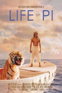 Life of Pi (2012) this is heartbreaking, frightening, yet a lovely story of survival and faith in God.