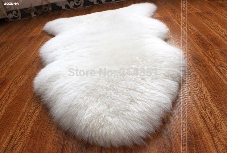Wonderfur 1 P одного овчины ковер овечьей шкуре ковер Ikea стиль меховых украшения для гостиной