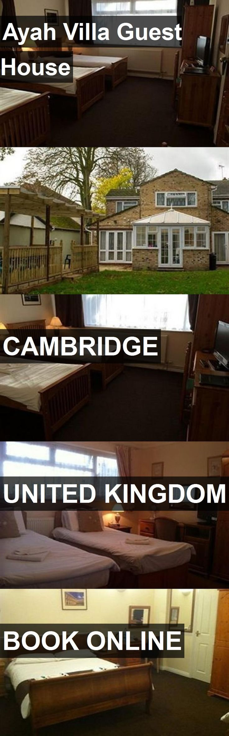 Ayah Villa Guest House in Cambridge, United Kingdom. For more information, photos, reviews and best prices please follow the link. #UnitedKingdom #Cambridge #travel #vacation #guesthouse