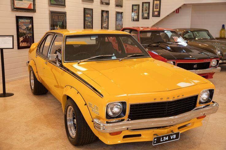 The bright and beautiful Holden L34 Torana certainly packs a punch when it's on the road!