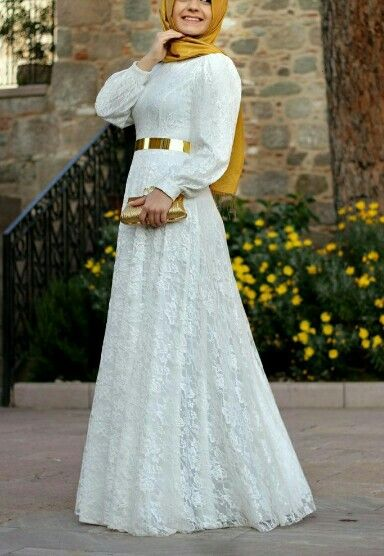 فستان راقي للمحجبات