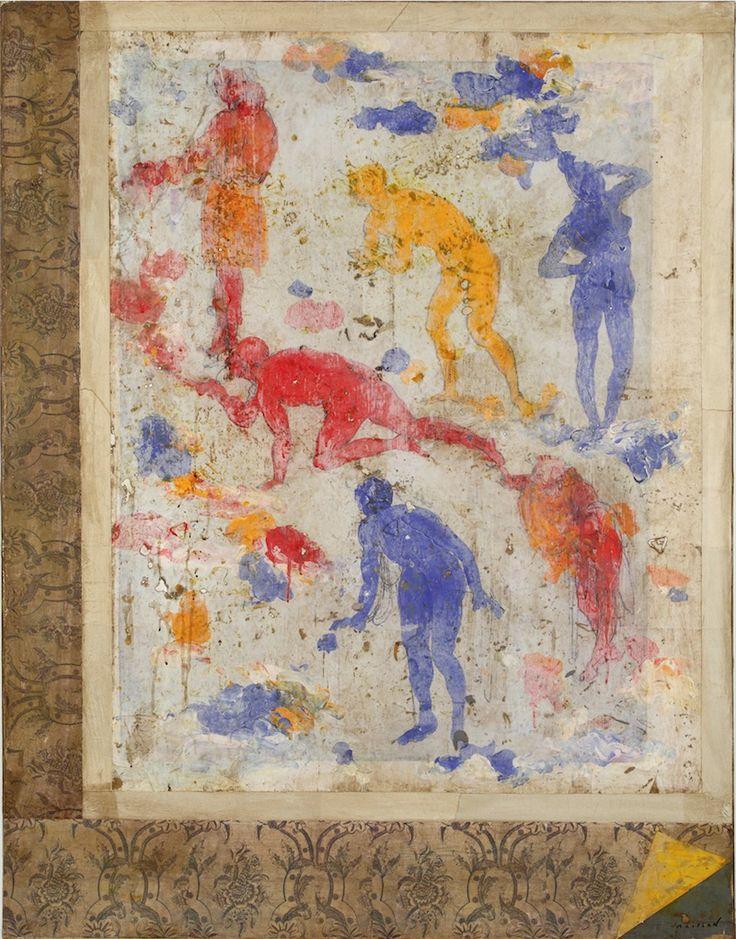 Génèse, 114 x 146 cm