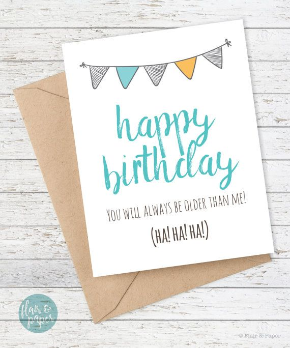 The 25 best Happy birthday big brother ideas – Birthday Card for Brother from Sister