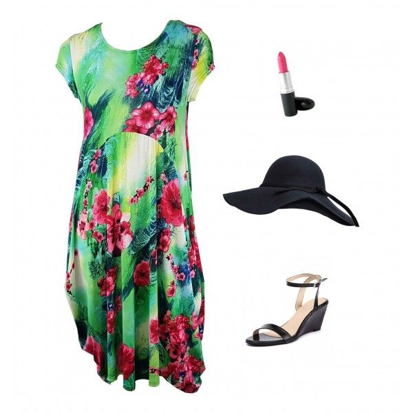 Yassi Tropical Day Dress