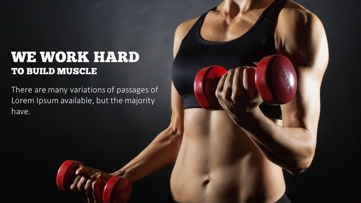 Great design doesn't have to be hard. Check out Fitness Exercise - Presentation Powerpoint Templates