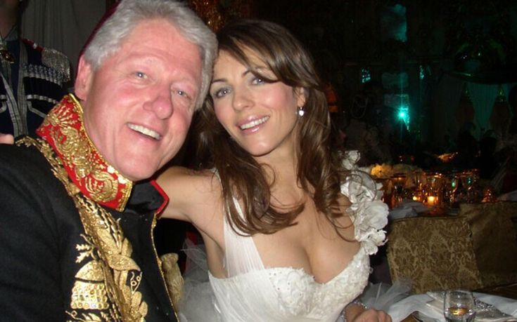 Elizabeth Hurley forced to deny claims of an affair with Bill Clinton - Telegraph