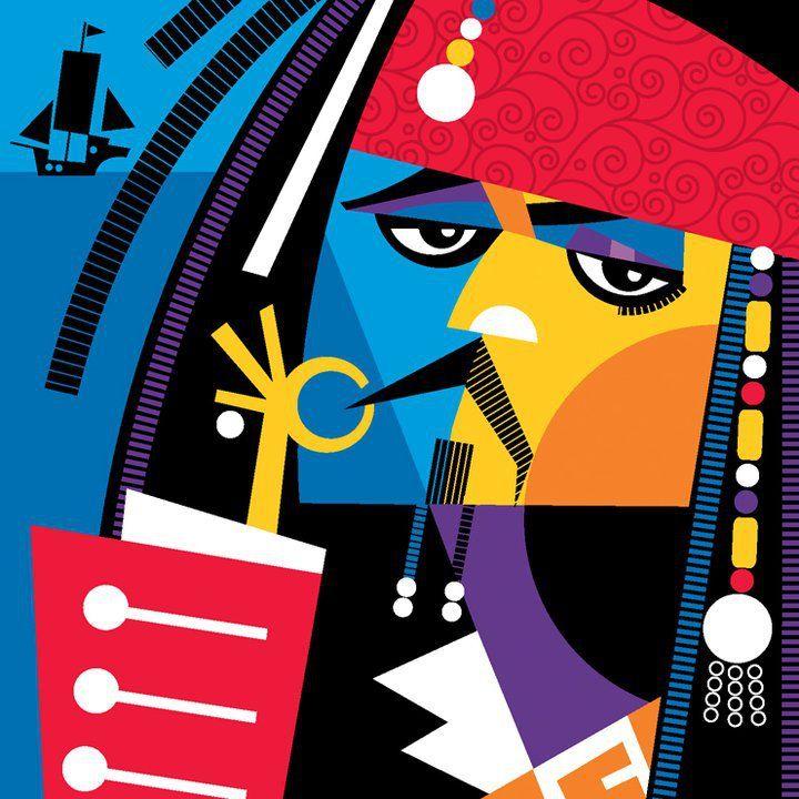 Captain Jack Sparrow by Pablo Lobato