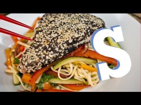 Quick and Easy Wasabi Tuna & Noodle Salad Recipe