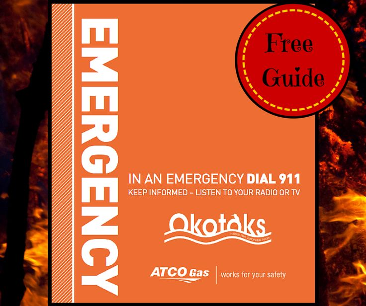 The town of Okotoks has a free online guide on Emergencies. Keep your family safe thanks to Okotoks. http://rgn.bz/rezo