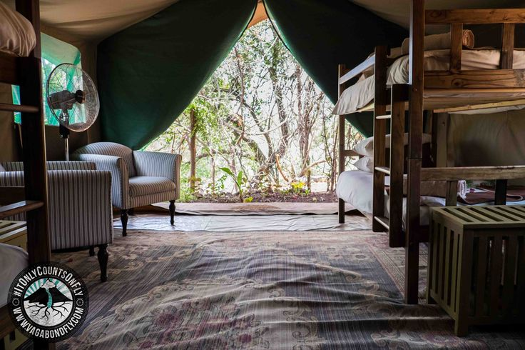 We're child-friendly. New family tent at Ichingo Chobe River Lodge