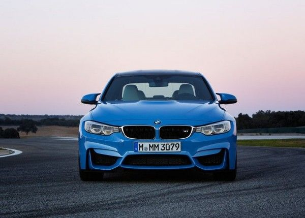 2015 BMW M3 Sedan Front Images 600x429 2015 BMW M3 Sedan Full Review