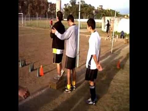 entrenamiento de Fuerza - Velocidad, para fútbol, preparación fisica - YouTube