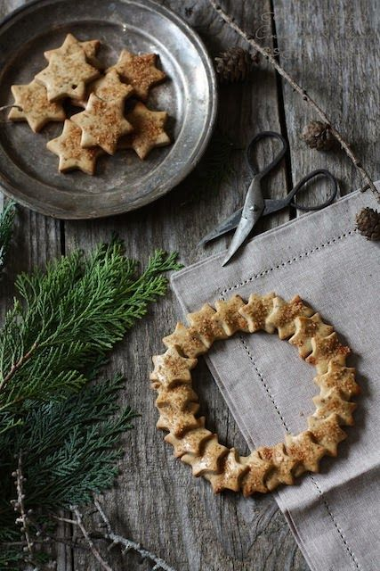 Fragrant wreath biscuits