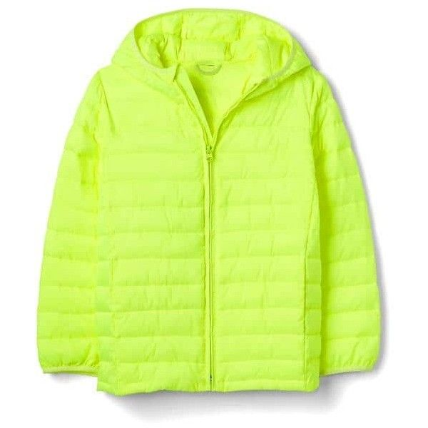 ColdControl Lite quilted puffer jacket | Gap ❤ liked on Polyvore featuring outerwear, jackets, puffer jacket, green jacket, puffy jacket, quilted puffer jacket and quilted jacket
