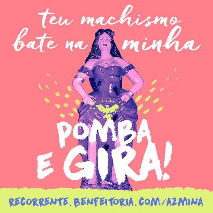 Revista AzMina - para mulheres de A a Z | Recorrente: financiamento contínuo Mais