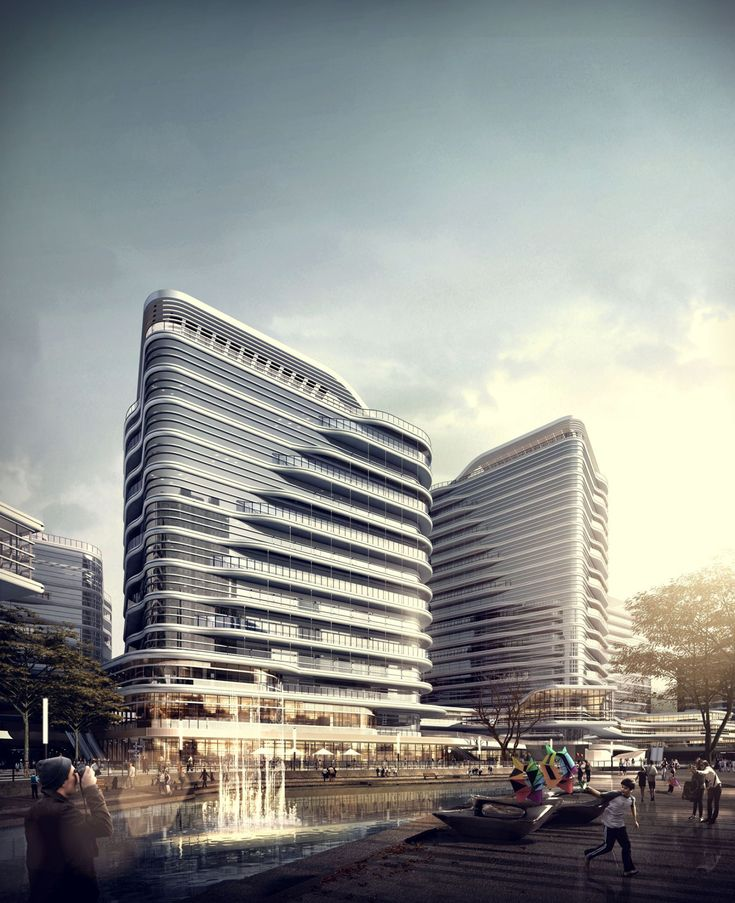 CGarchitect - Professional 3D Architectural Visualization User Community | recent work with Shanzi Digital, Tianjin