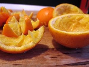 Riciclare bucce di arancia