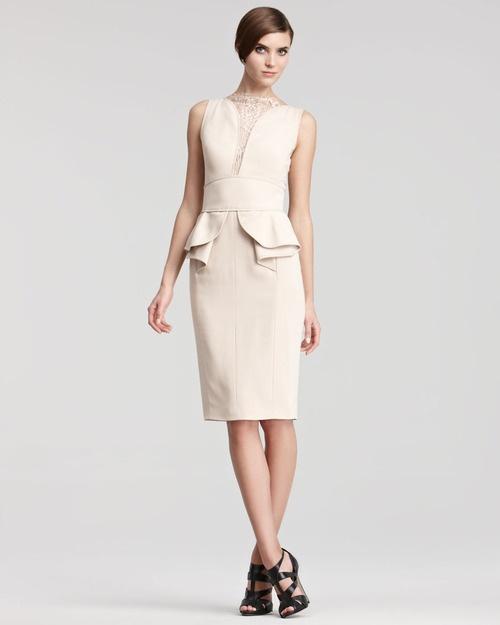 Elie Saab Peplum Dress