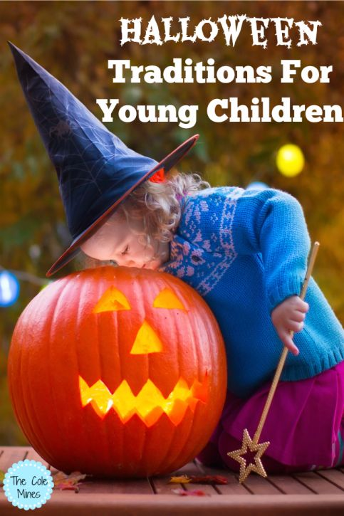 Halloween Traditions For Young Children - The Cole Mines