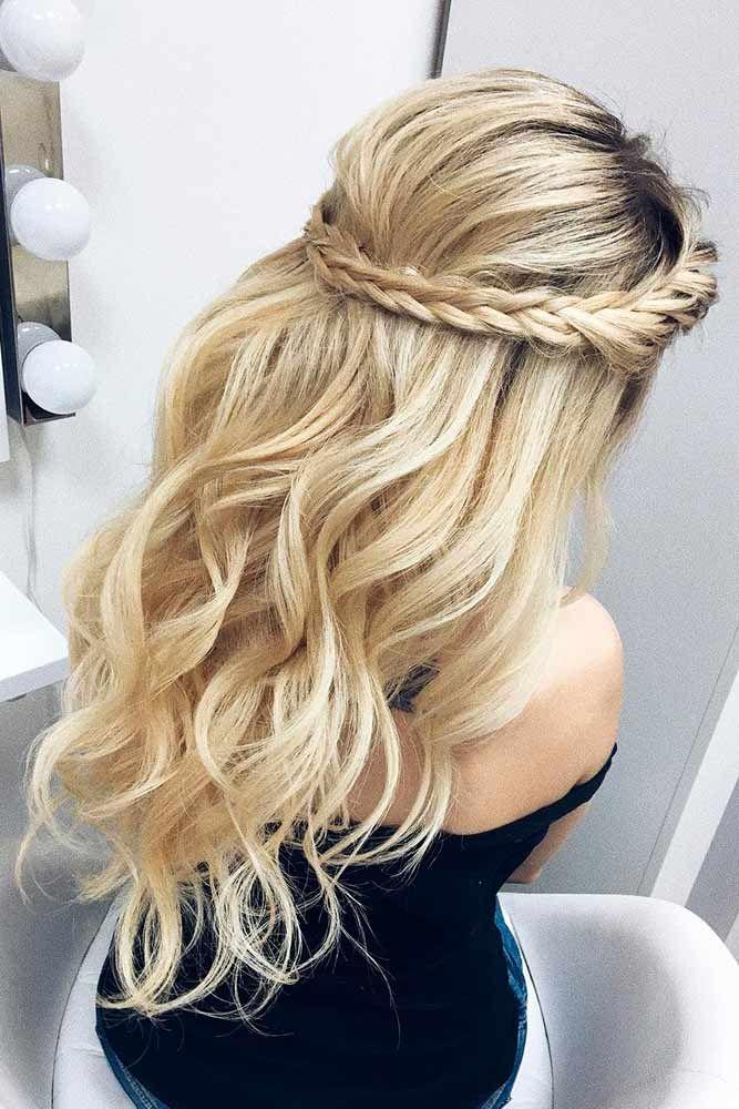 homecoming hair ideas