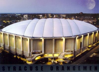 The Carrier Dome, Syracuse, NY
