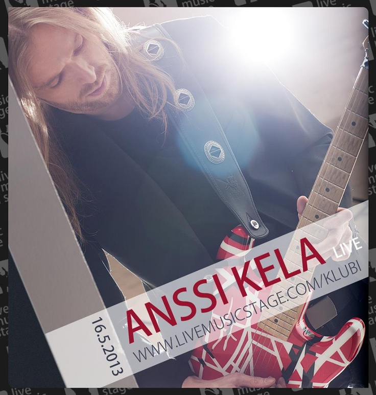 Finnish singer-songwriter Anssi Kela took over the charts with his new album in March and he'll light the Stage on May 16th. Check out the pics from the gig at http://www.facebook.com/LiveMusicStage